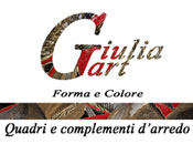 Pittrice GIULIA GART - Logo aziendale