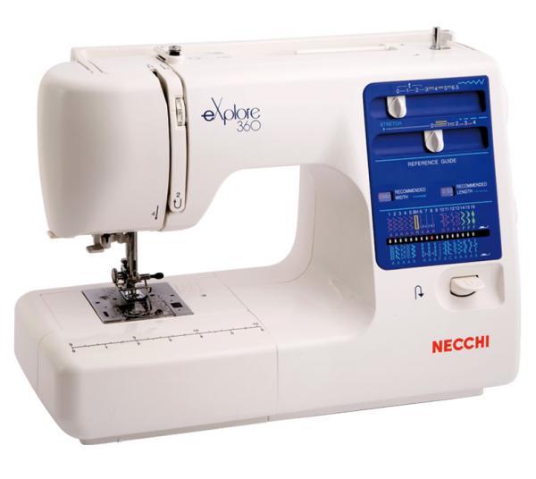 Macchina da cucire Necchi 309 - Punto Cucito