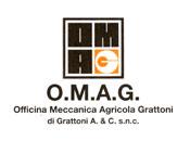 O.M.A.G. Officina Meccanica Agricola - Logo aziendale